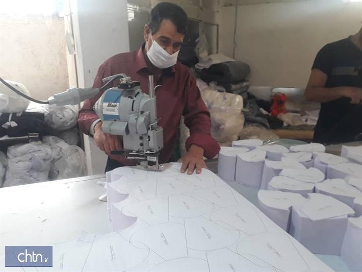 تولید روزانه بیش از 6هزارماسک در یک کارگاه صنایع دستی اصفهان