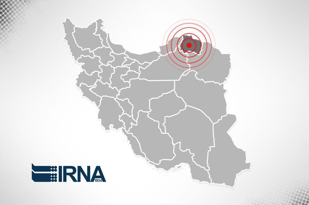 خبرنگاران زلزله 3.8 ریشتری غرب خراسان شمالی را لرزاند