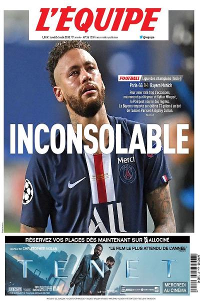 صفحه نخست روزنامه های ورزشی اروپا ، تمسخر امیر (تصاویر)
